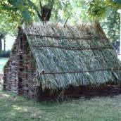 Riproduzione di capanna, laboratorio scolastico al Mavarta