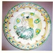 Montecchio, piatto recuperato durante gli scavi del castello