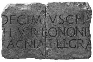 Logo del Gruppo archeologico sezione di Sorbolo
