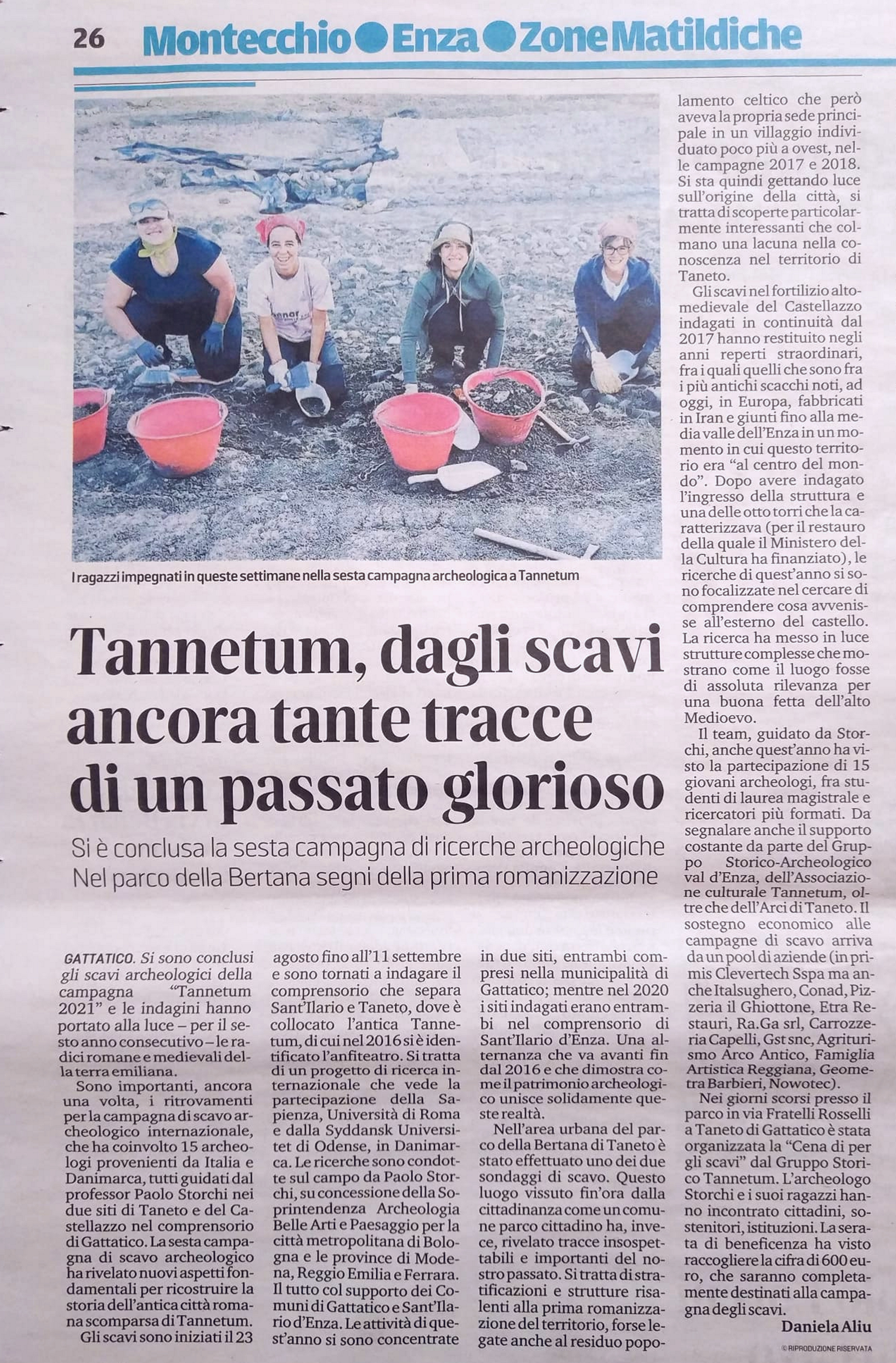 Gazzetta di Reggio 14-9-2021