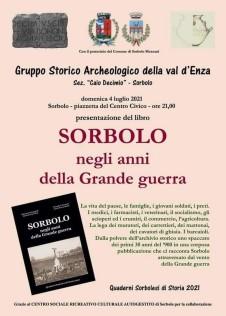 Sorbolo Presentazione Libro Sorbolo e la Grande Guerra - Locandina